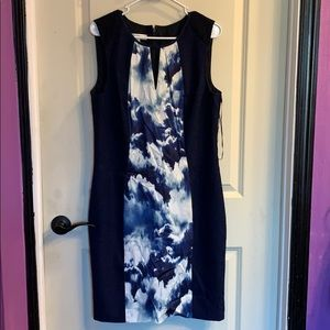 Size 14 blue sleeveless dress